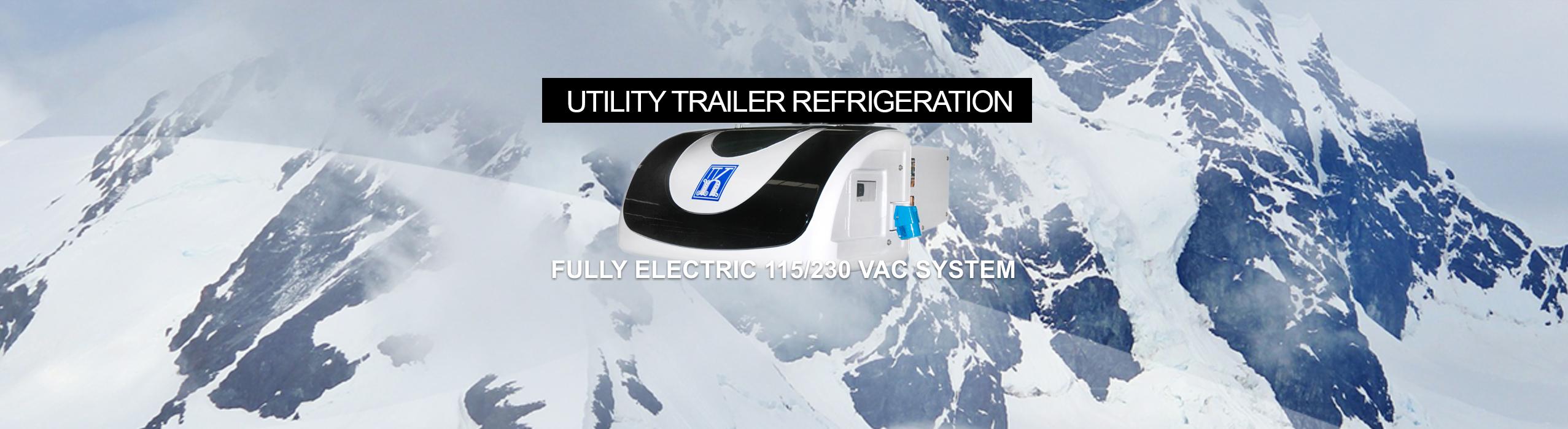 Kingtec Utility Trailer Electric System - Produce Transport Refrigeration